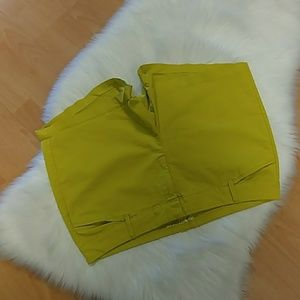 Old Navy Pixie Lime Shorts